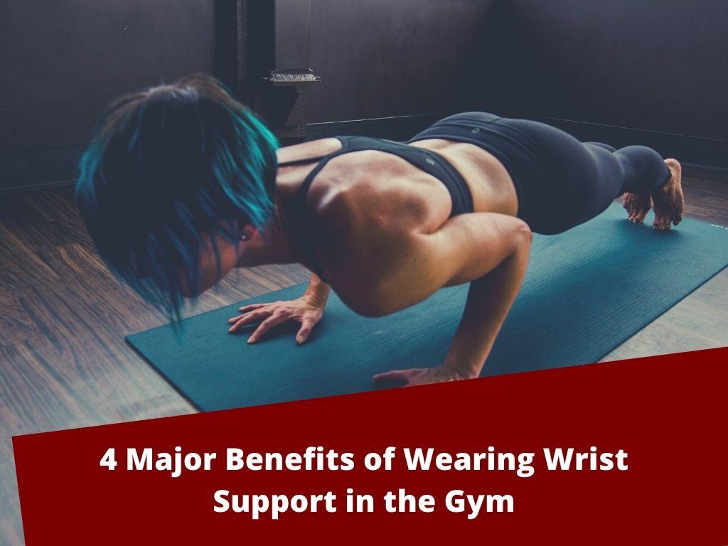wear wrist support in gym
